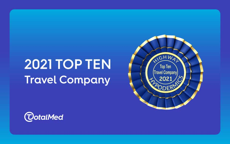 TotalMed Secures Top Spots in Highway Hypodermics Top Ten 2021 List